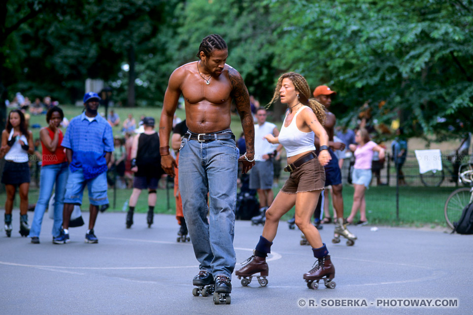 Image Photo Artistes du Central Park spectacle images de New York