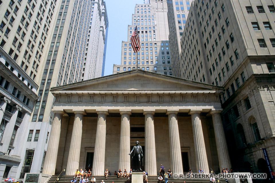 Images Photos du congrès américain photo du Federal Hall de New York