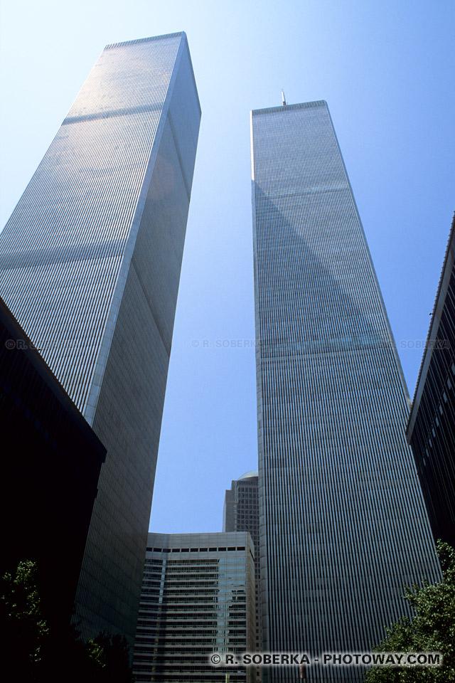 Images et Photos du World Trade Center photo avant attentats 11 septembre