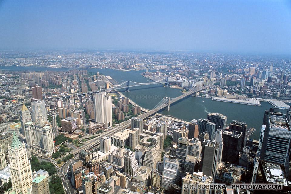 Image et Photo ville de Brooklyn photos de l'East River photo à New York