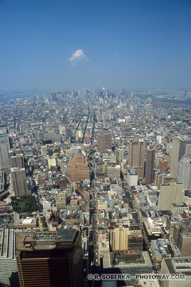 Images Photos tour jumelle de New York photo sommet World Trade Center