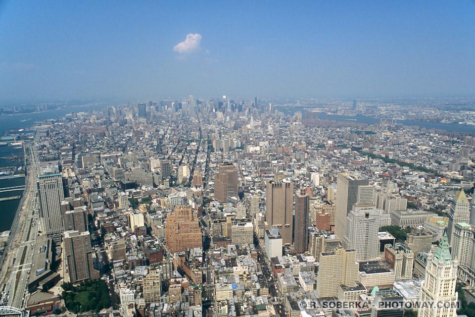 Tours Jumelles Photo Du World Trade Center 224 New York Twin