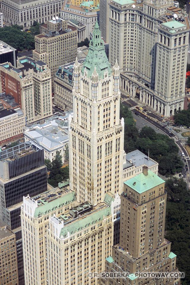 Images Photo de gratte ciel de New York photos du Woolworth Building photo