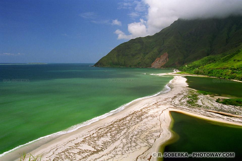 Fond écran Nouvelle Calédonie wallpaper océan Pacifique et Corniche Calédoniènne