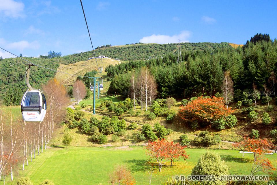 Photos de téléphériques : Photo du téléphérique Skyline Skyrides de Rotorua