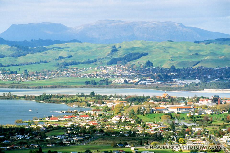 Photos de Rotorua : Photo de Rotorua ville thermale en Nouvelle-Zélande
