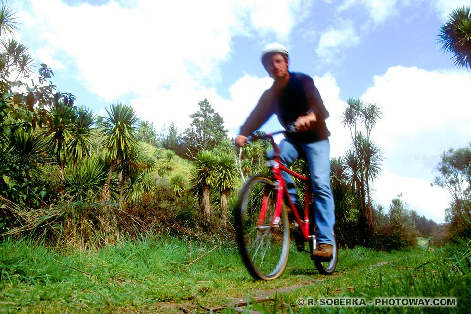 Photos de VTT : Photo vélo tout terrain en Nouvelle-Zélande