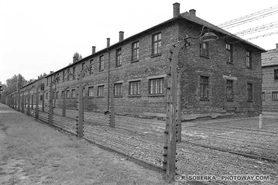musée de l'holocauste juif à Auschwitz