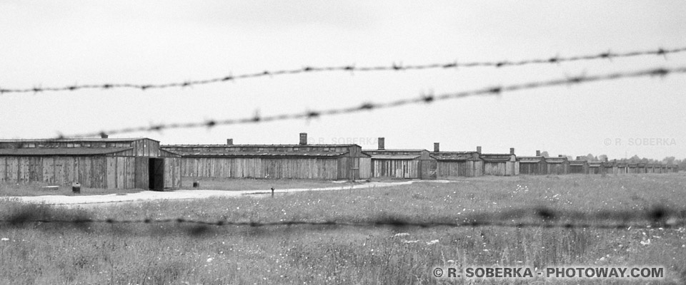 Baraquements Auschwitz Birkenau