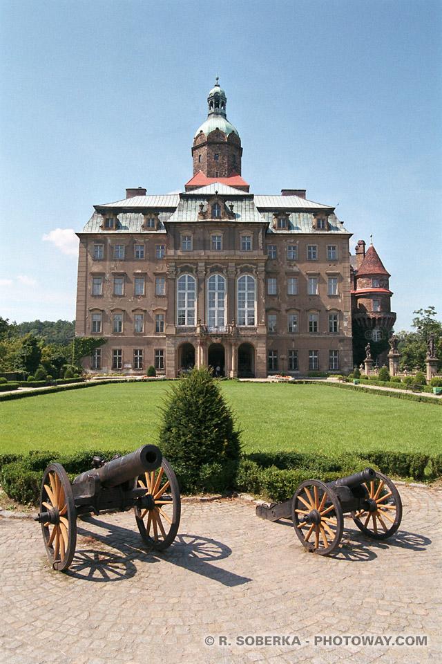 Photos du château médiéval de Ksiaz photo visite en Pologne sur photoway
