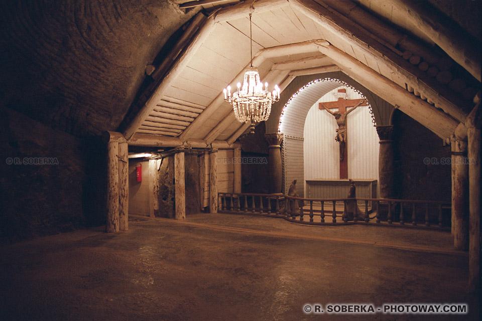 Photos de Chapelles soutérraines photo dans les mines de sel polonaises