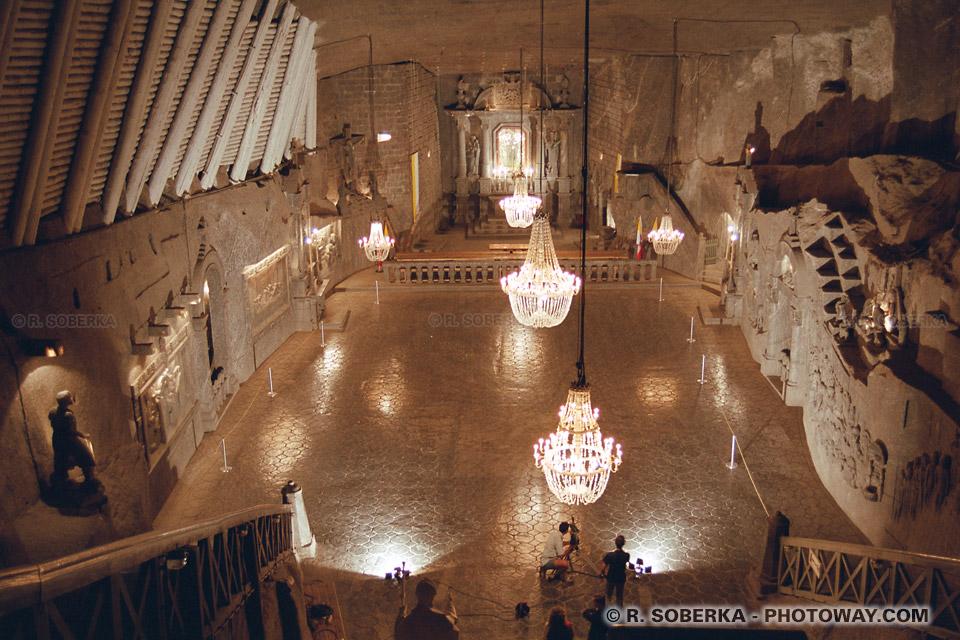 Image Photos de la chapelle Kinga photo à Wieliczka mine de sel en Pologne