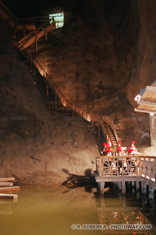 Photos - visite d'une mine de sel reportage photo à Wieliczka en Pologne