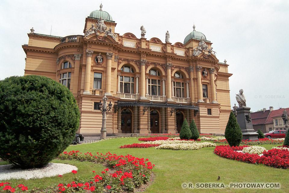 Baroque Architecture on Photo Theatre Juliusz Slowacki    Cracovie Photos Baroque Renaissance