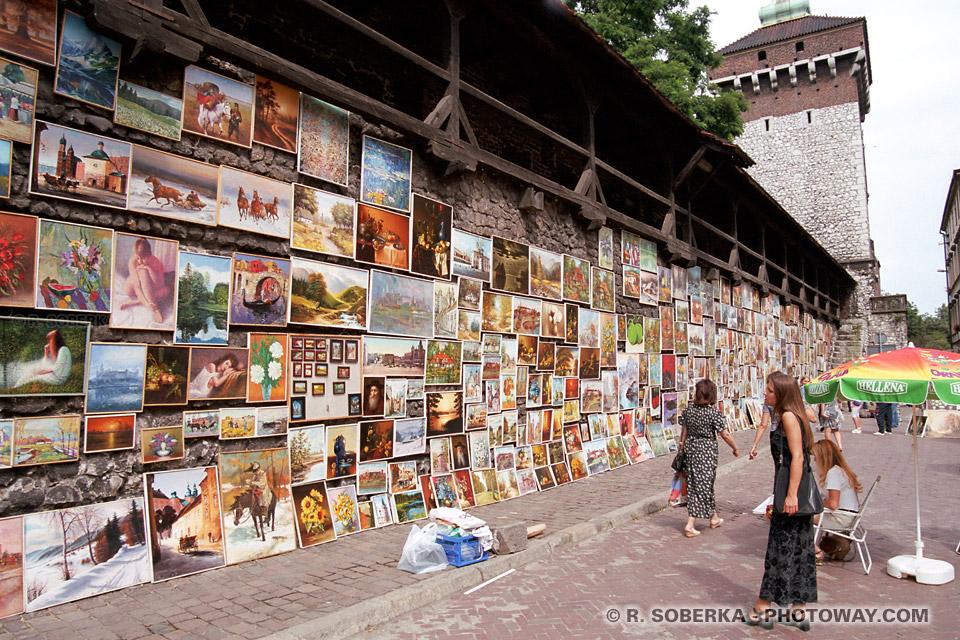 Images Photos de murailles photo de galeries d'expositions visite de Cracovie