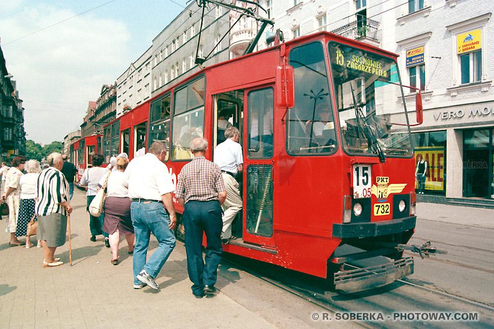 Photos de tramways polonais photo informations à Katowice en Pologne sur photoway