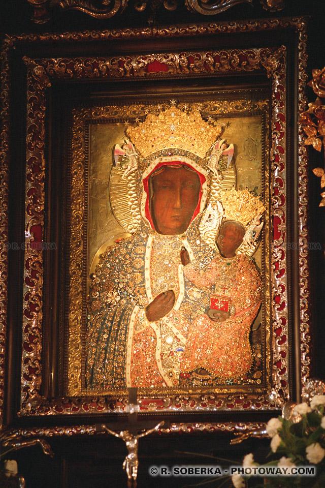 Photos Vierge Noire de Czestochowa Polonaise photo d'icones en Pologne sur photoway