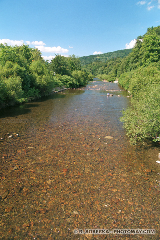 Images et Photos de la Vistule photo d'un ruisseau de montage en Pologne sur photoway
