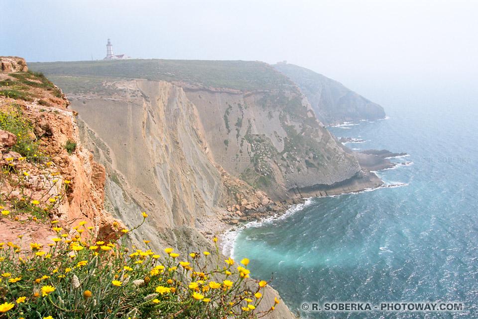 Photos de falaises au portugal : photo Cabo Espichel