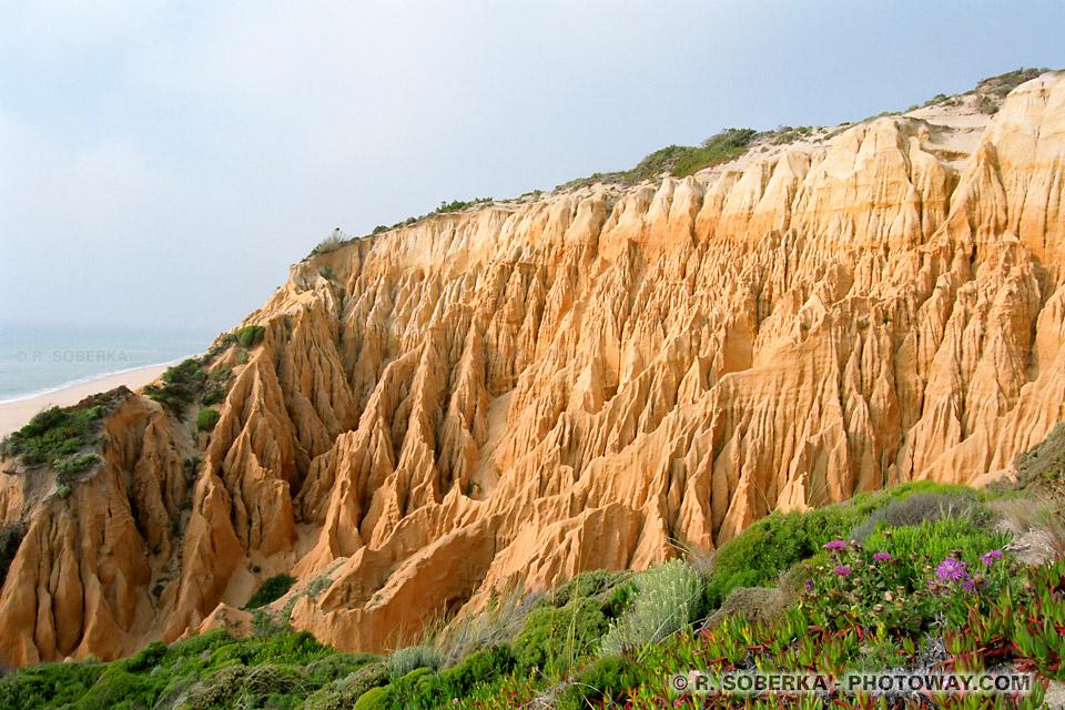 Photos d'érosion : photo de l'érosion à Sines Portugal