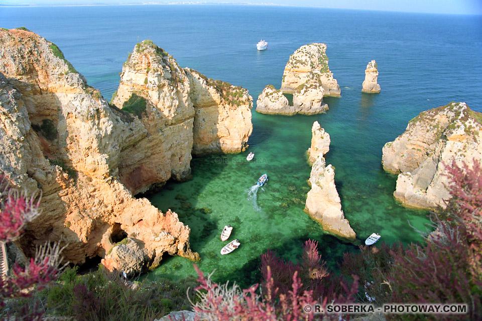 image de Algarve : photos de la côte de L'Algarve guide touristique au Portugal