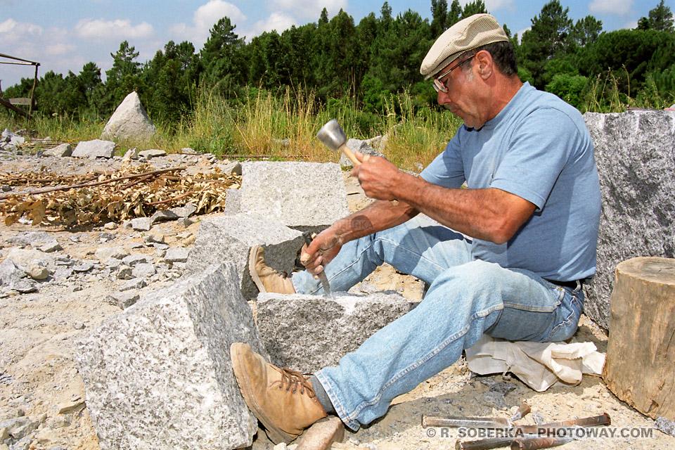 Photo de tailleurs de pierres photos de la Serra Monchique au Portugal