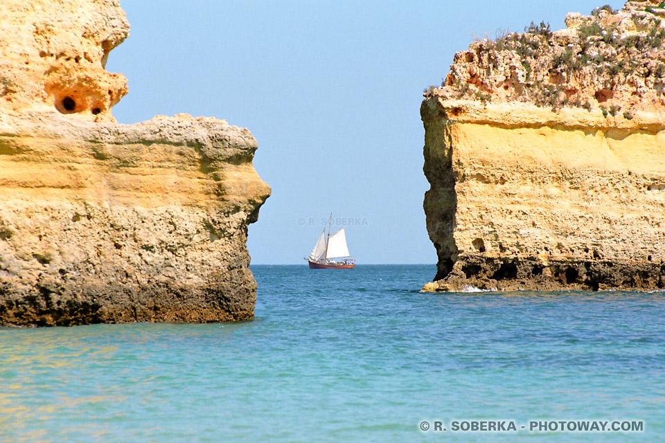 Algarve au Portugal - Carte postale virtuelle