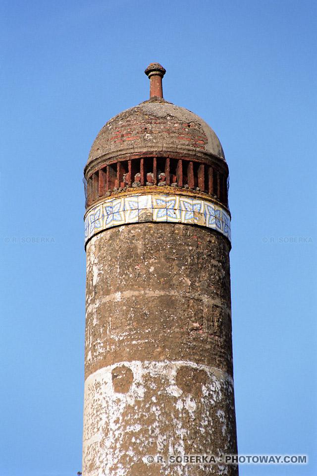 Photo d'une cheminée Mudéjar, Photos de cheminées à Moura au Portugal