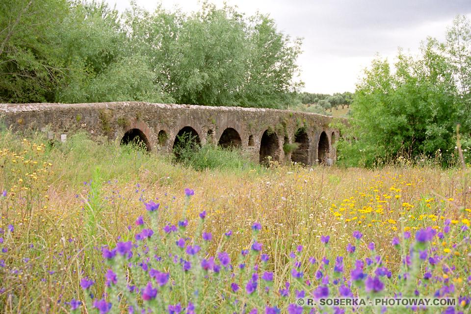 images du Portugal : Photos du pont Romain de Vidigueira