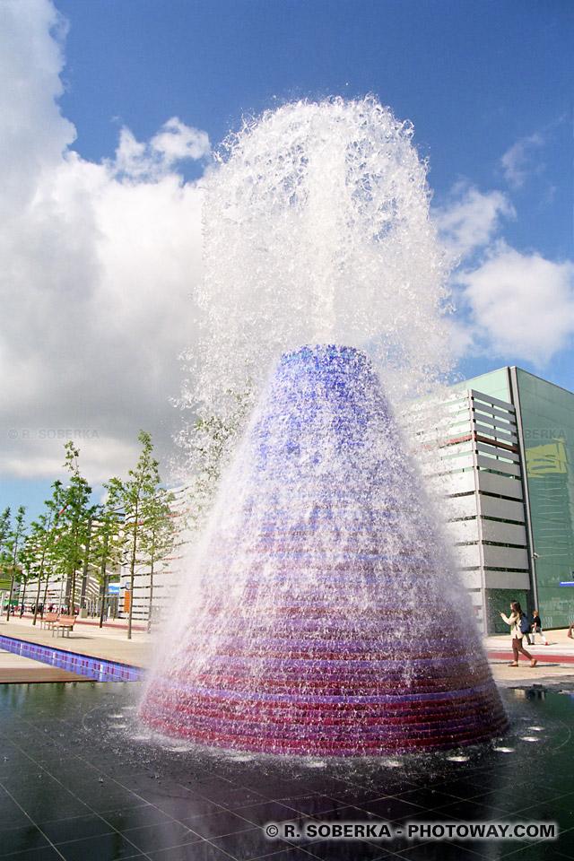 Photos de fontaines magiques photo Exposition Universelle de Lisbonne