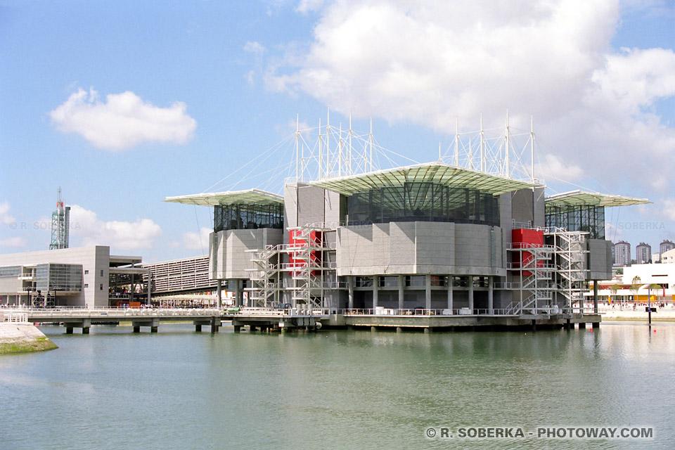 Photos de l'Aquarium de Lisbonne photo du pavillon des Océans de l'Exposition Universelle 1998