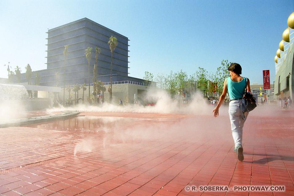 Photos de brumes artificielles photo de vaporisation EXPO 98 au Portugal