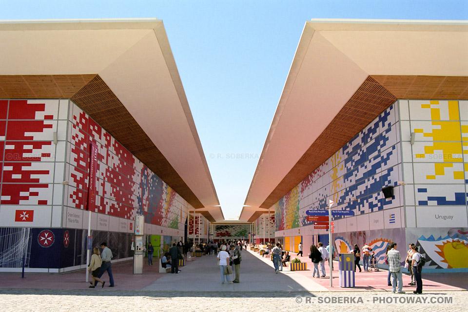 Photos des batiments de l'Exposition Universelle de Lisbonne reportage photo sur Photoway