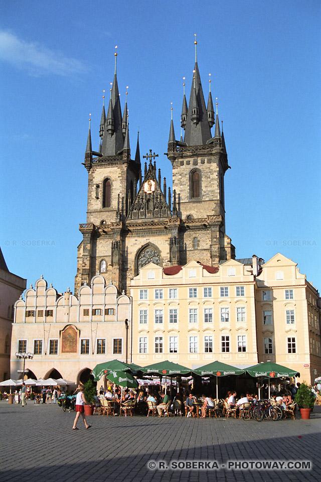 Image Photo de Notre-dame photos de Notre-dame de Tyn à Prague