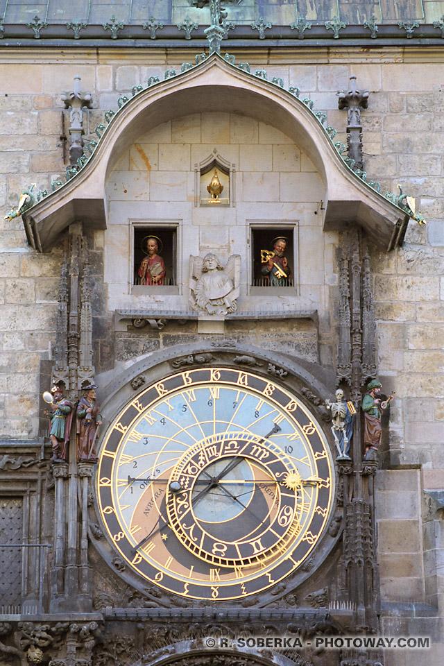 images Photos d'automates photo des automates de l'horloge de Prague