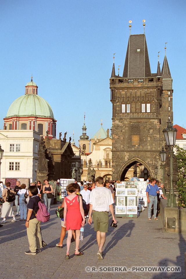 Photos de touristes à Prague guide de voyage en République Tchèque