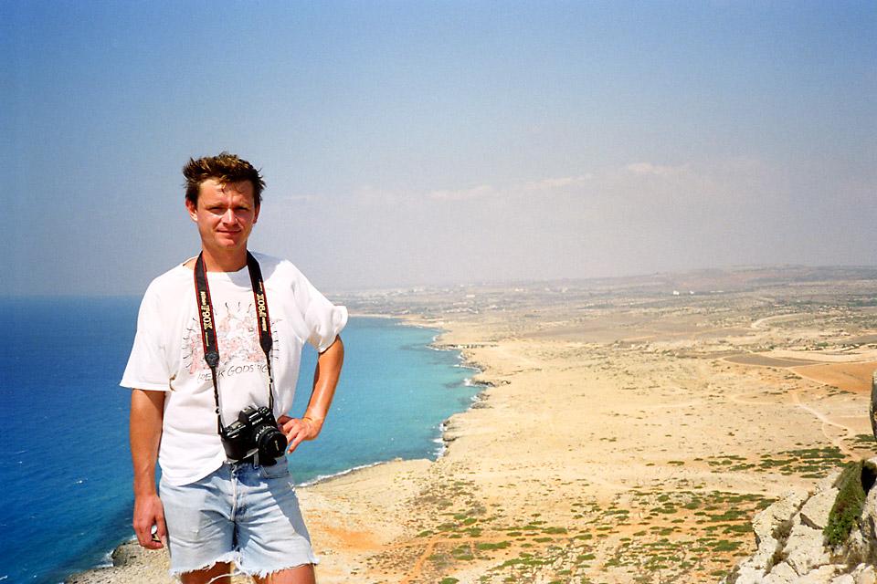 Richard Soberka à Chypre