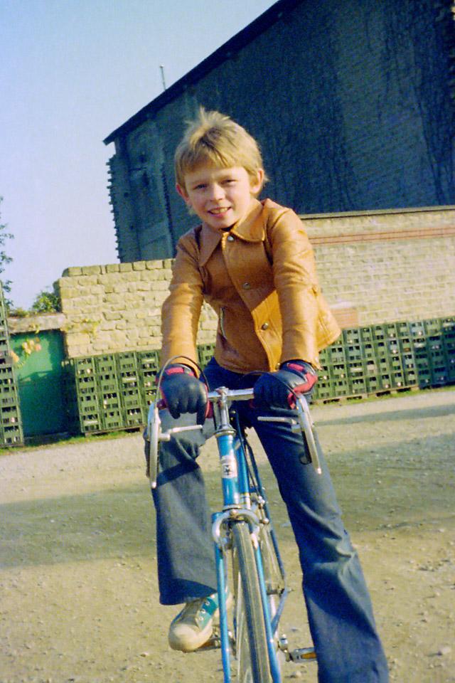 Richard Soberka à Sedan dans les Ardennes en 1975