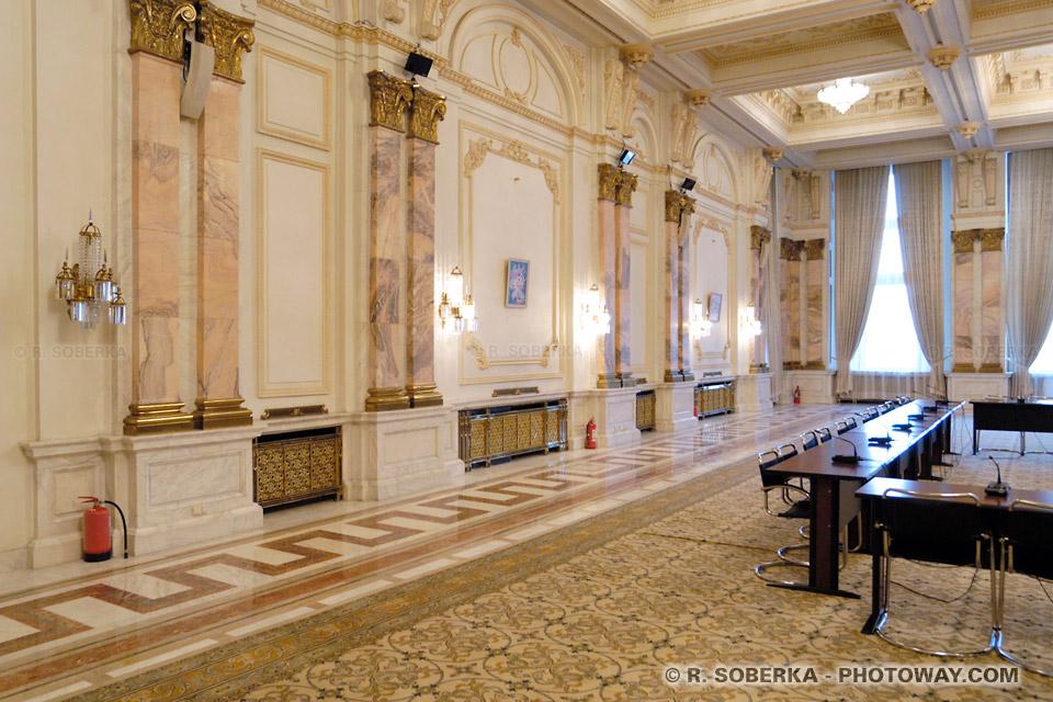 Image Salle de conférence à Bucarest congrès internationaux Roumanie
