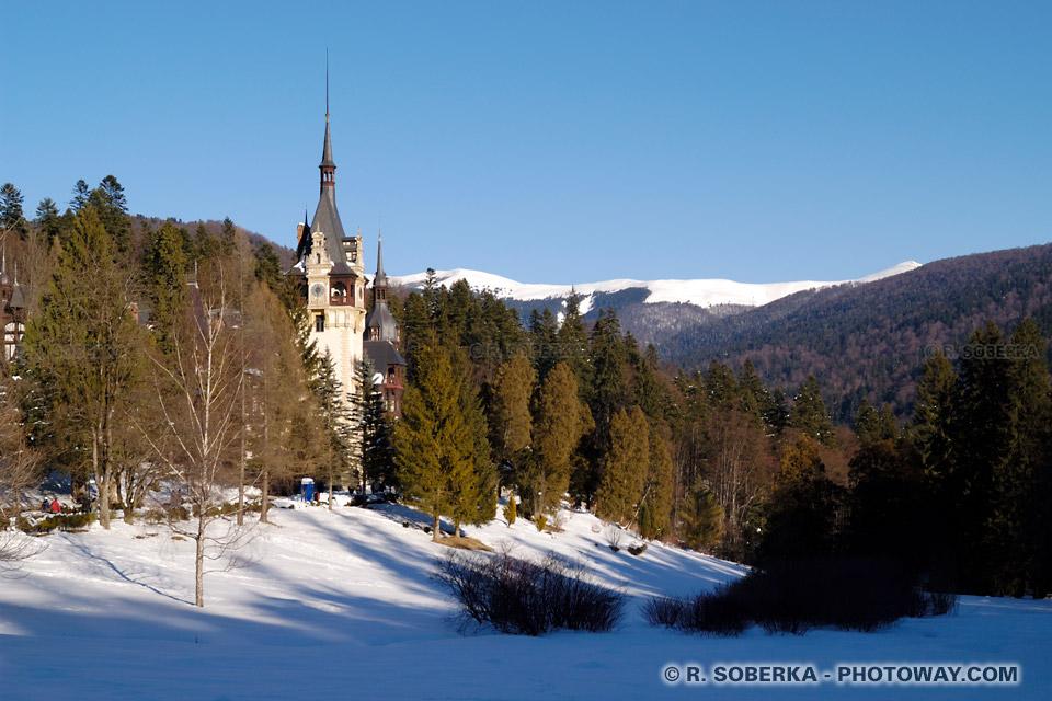 Image Photo en décor naturel photos image Chateau de Peles en Roumanie
