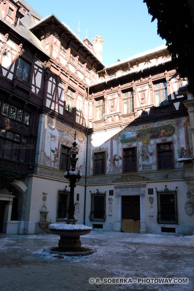 Image Photo du château de Peles visite et photos à Sinaïa en Roumanie