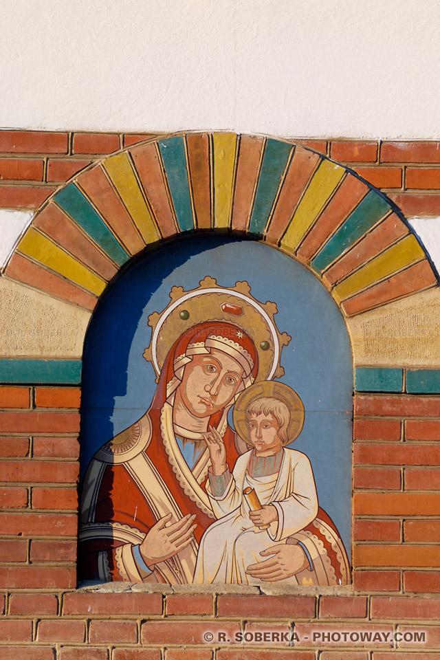 Images Photo de la Sainte Vierge photos de l'enfant Jésus image de Sinaïa