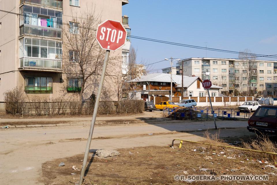 Image de la Sécurité dans les cités de banlieue dangers voyage en Roumanie