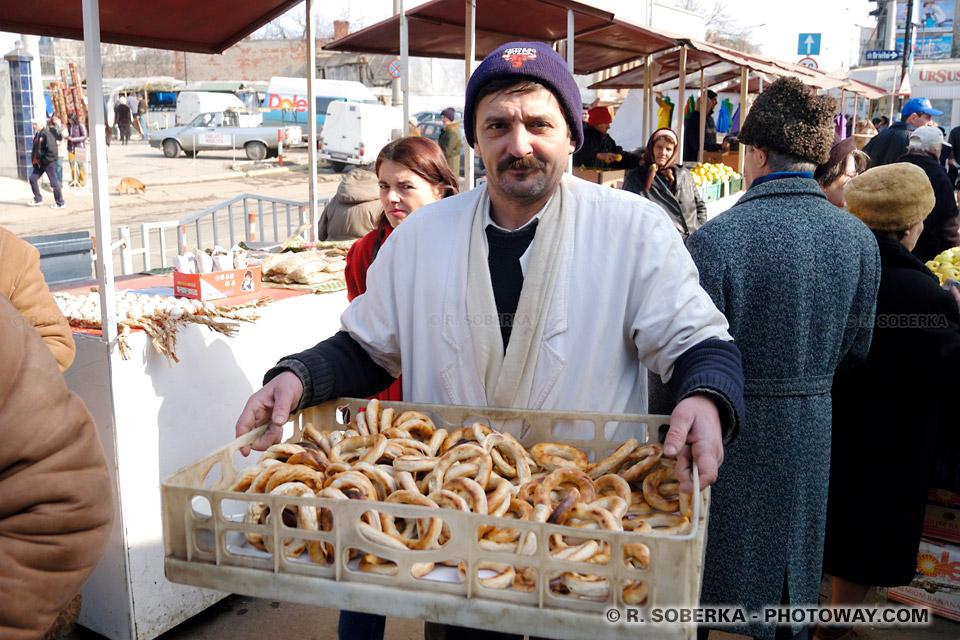 Images de Roumanie Photo de bretzels roumains photos de covrigi