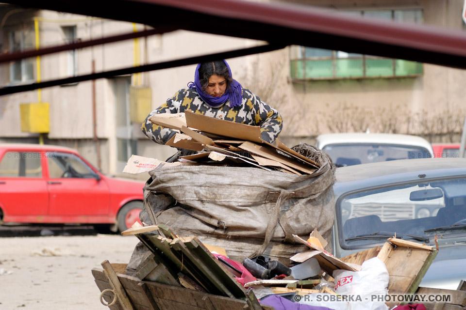 Image Photo d'une Gitane tzigane Roumaine photos Gitanes femmes Rom