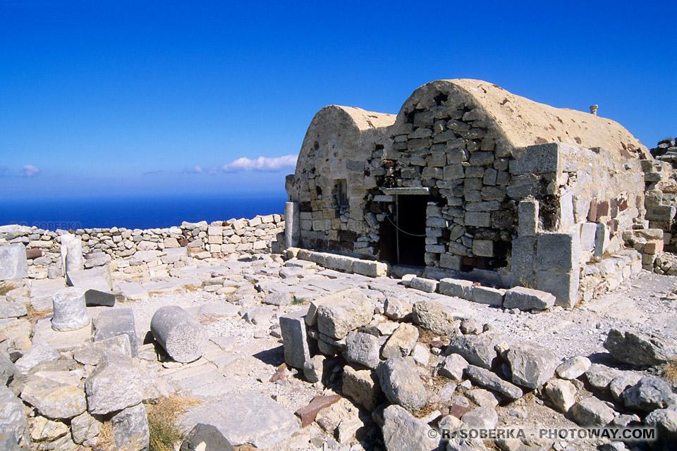 basilique paléochrétienne Santorin