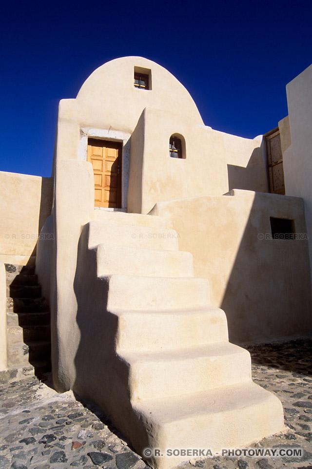 design maison de Santorin