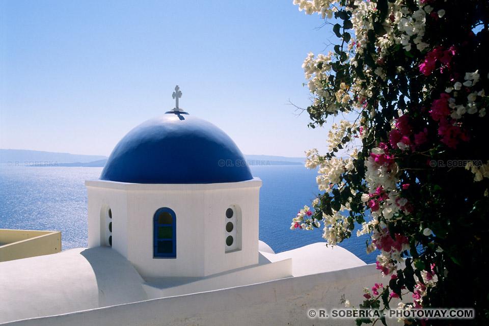 belle église à Santorin