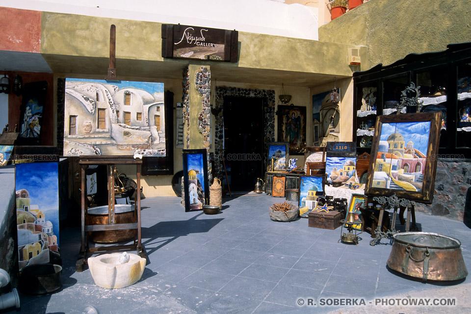 Galerie d'art Santorin
