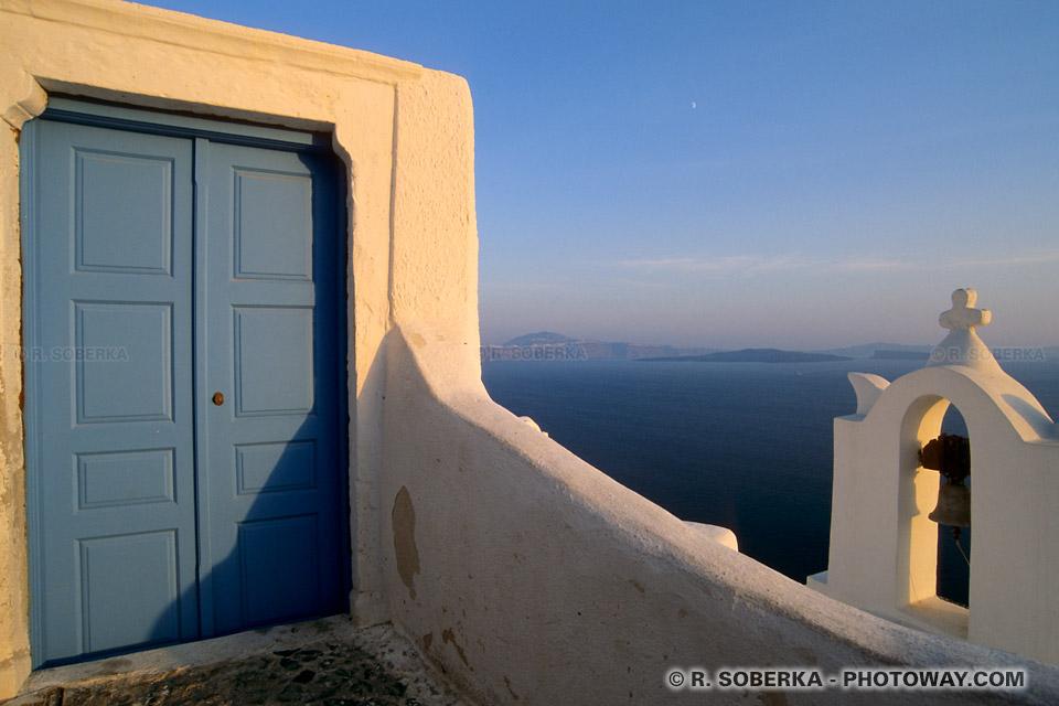 Porte à Santorin